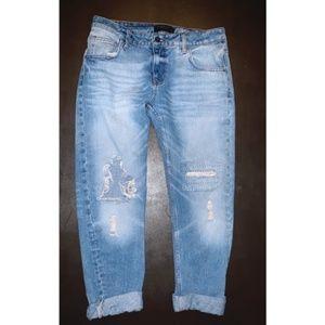 Zara mom/boyfriend fit jeans